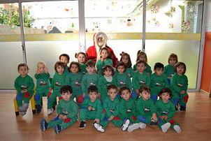 Nos visitó Papa Noel